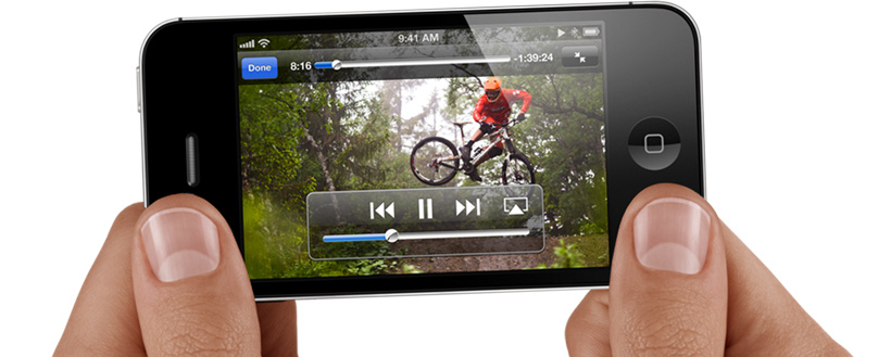 mobil mobiltelefon smartphone iphone video mtb fingre streaming apple