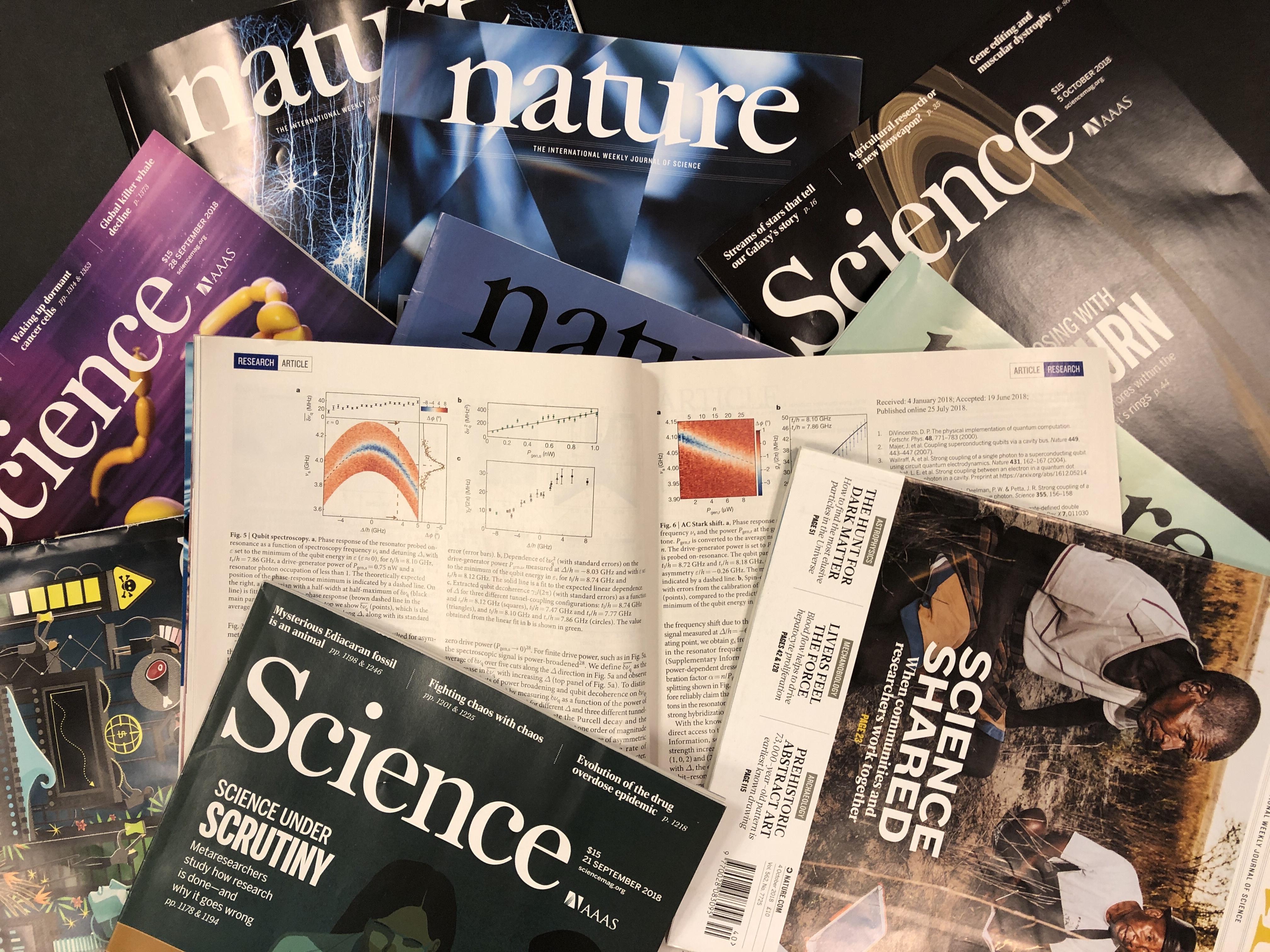 science nature tidsskrifter publicering