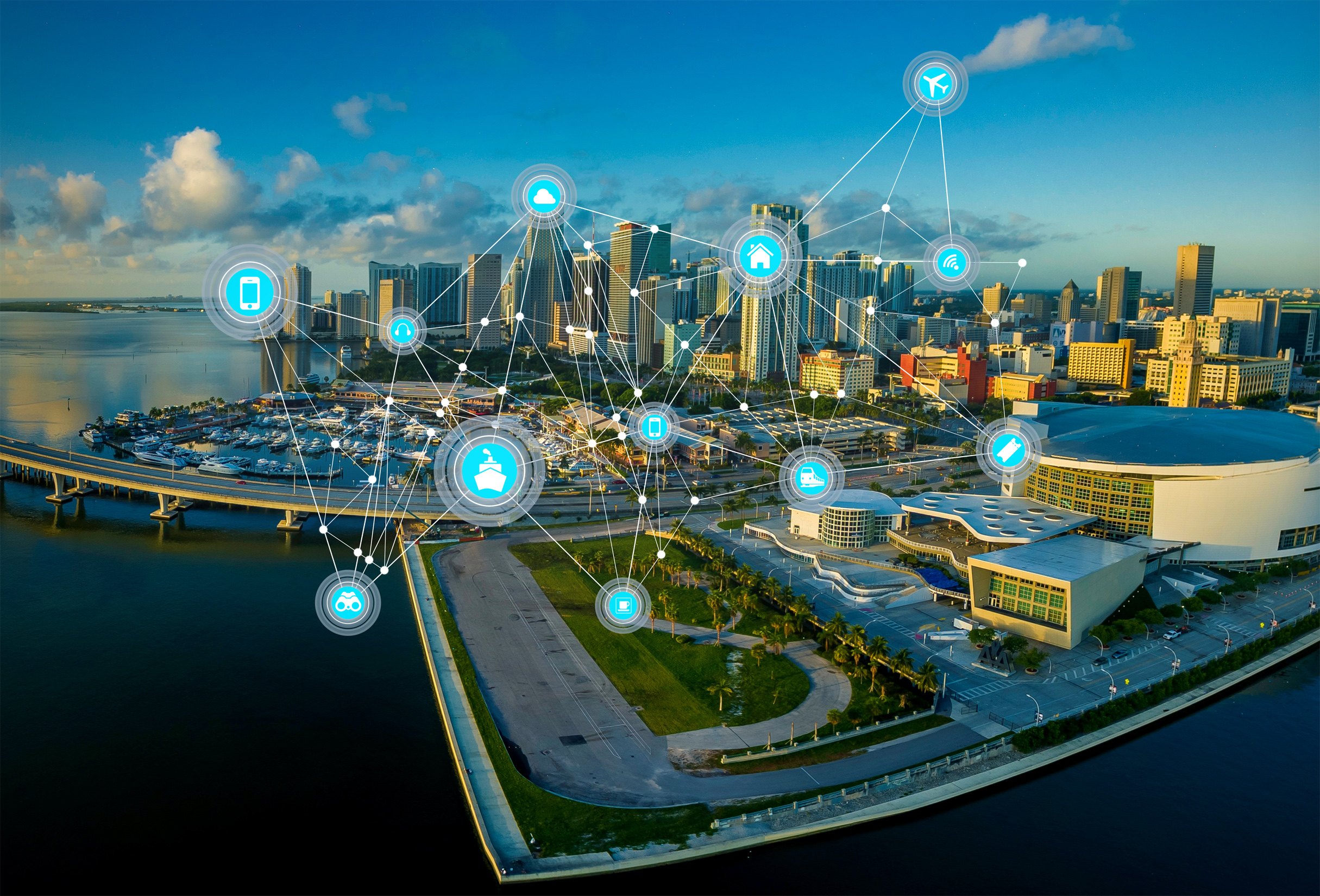 Smart cities, IoT