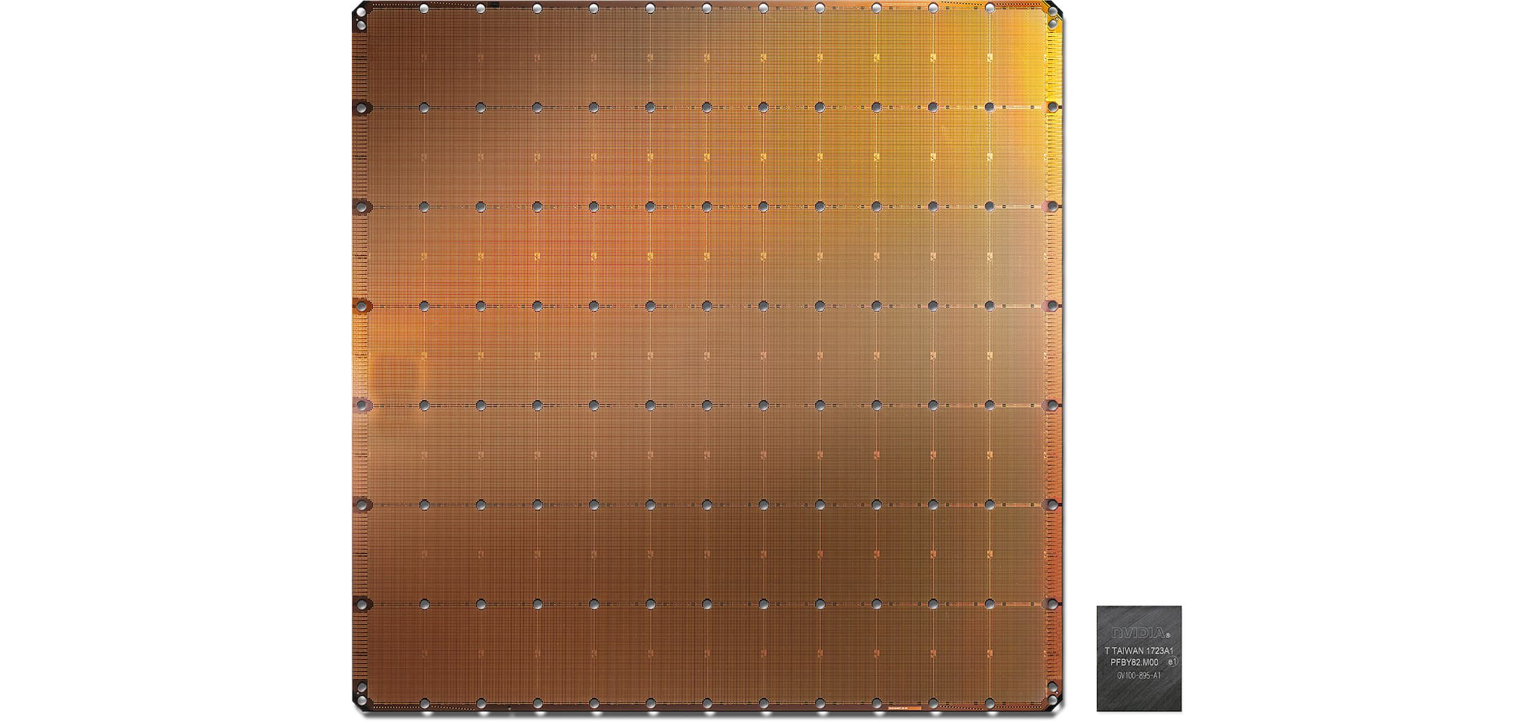 Wafer Scale Engine (WSE) chip