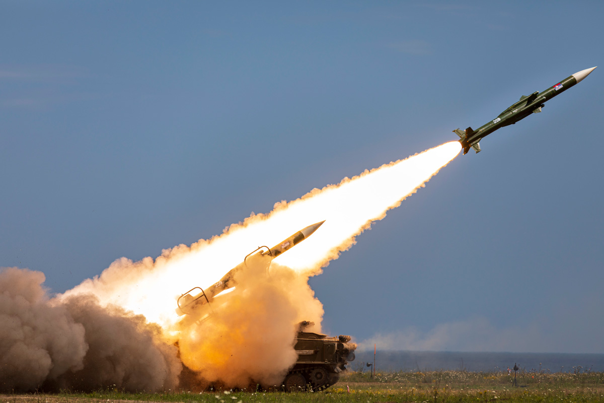 2K12 Kub mobile surface-to-air missile system
