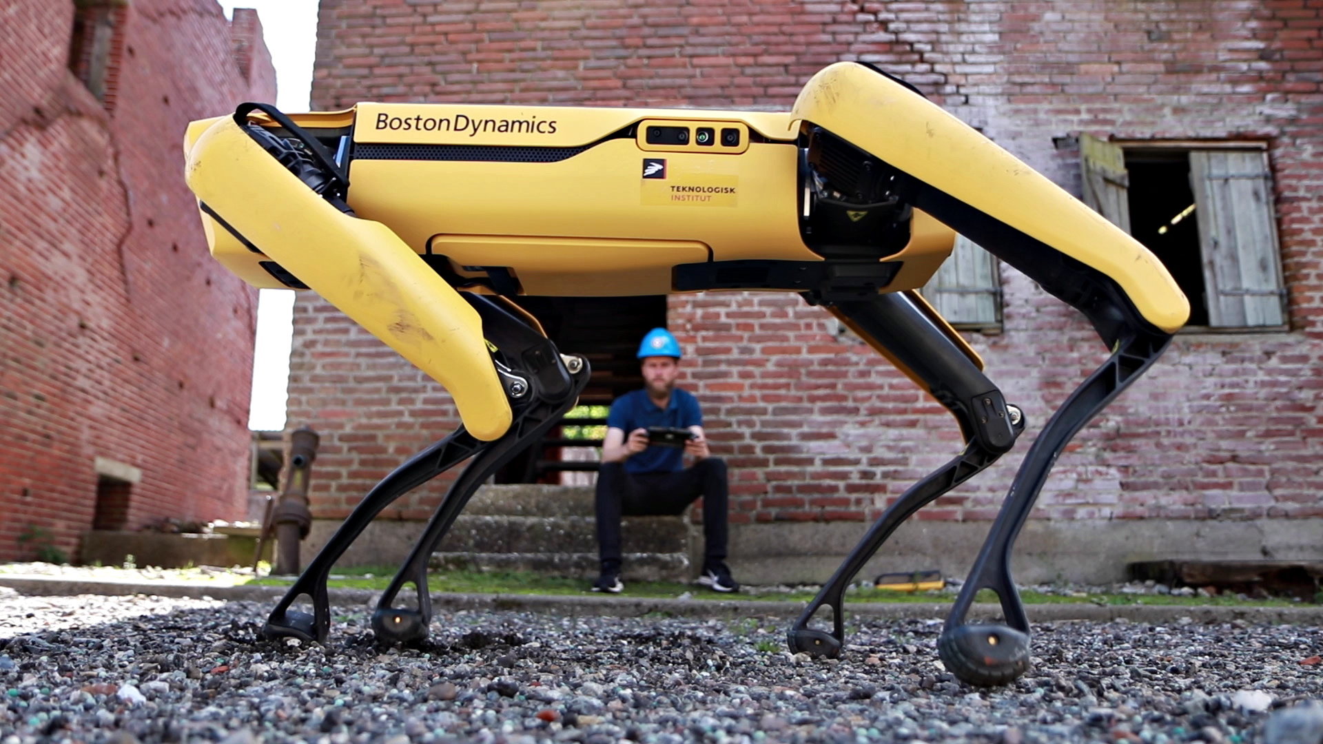 Spot, Boston Dynamics, Teknologisk Institut