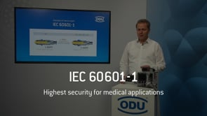 IEC 60601-1: How ODU guarantees maximum possible protection for patient and operator [EN]