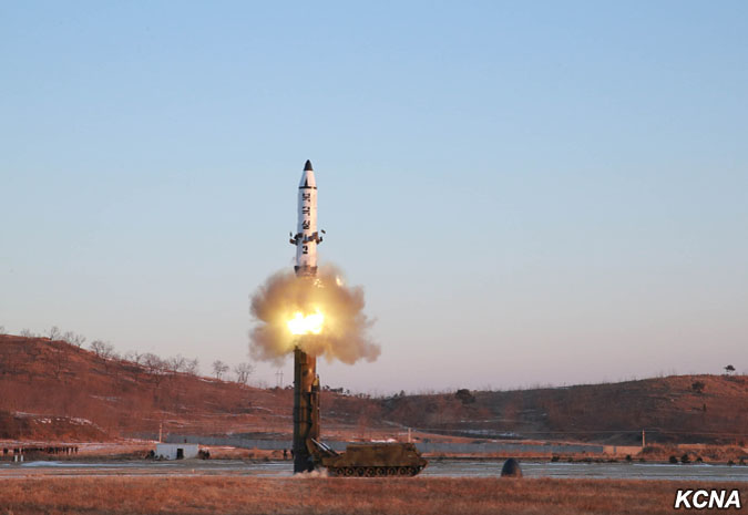 Nordkorea missil test 13 feb 2017
