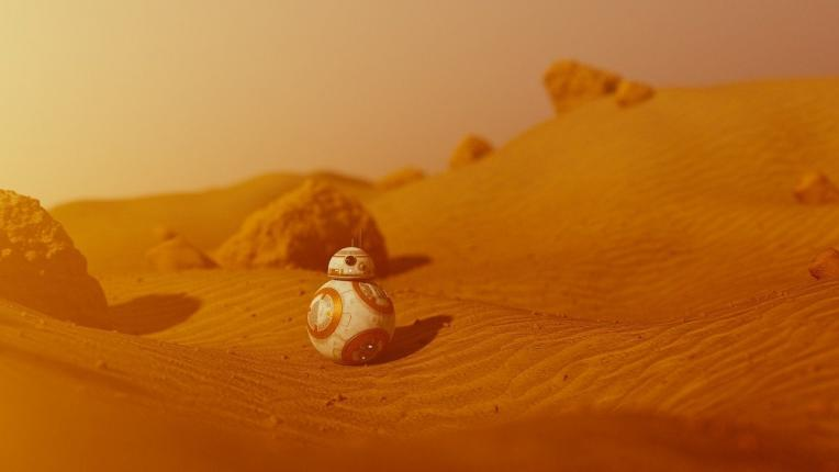 BB8 fra 'The Force Awakens'.