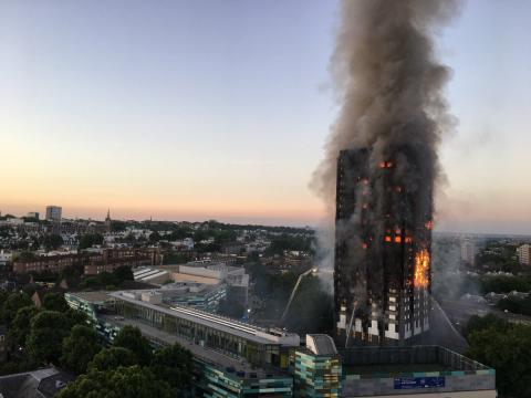 Grenfell tower brand london
