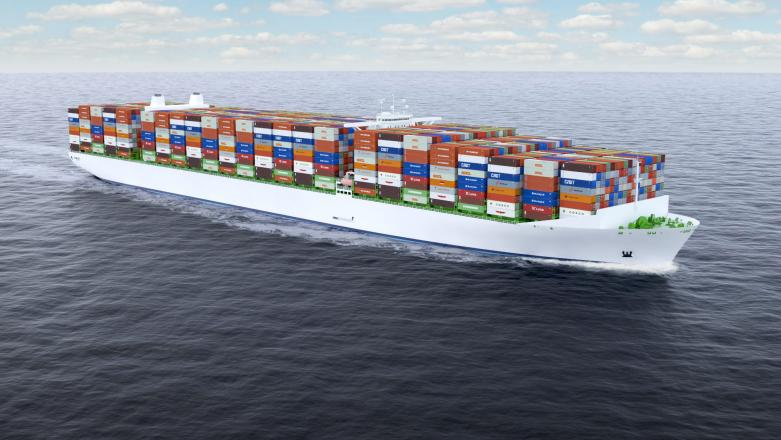 Odense Maritime Technology, OMT, containerskib, Lindø