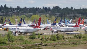 Boeing 737, MAX 8, fly