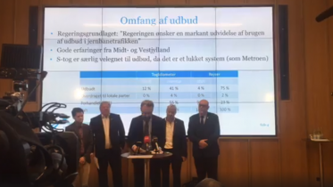 VIDEO: Regeringen fremlægger ny plan for S-tog