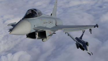 To Eurofighters er styrtet ned i Nordtyskland