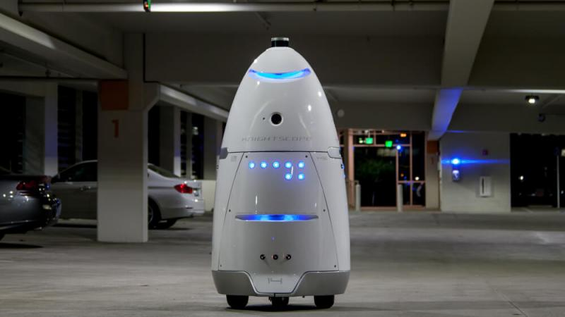 knightscope robot sikkerhed ai