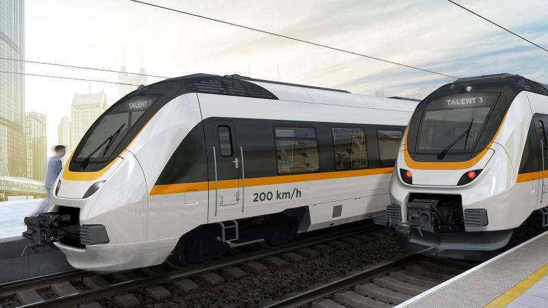 Bombardier Talent 3 regionaltog batteritog tog