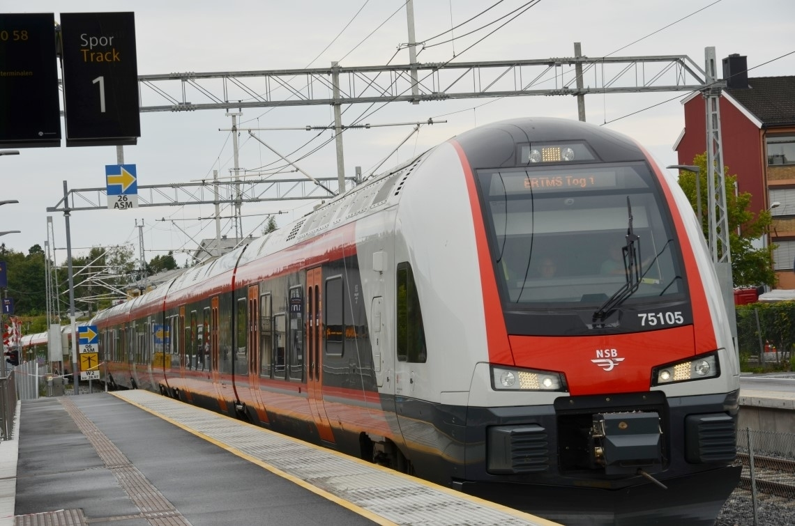 ERTMS, norge, tog