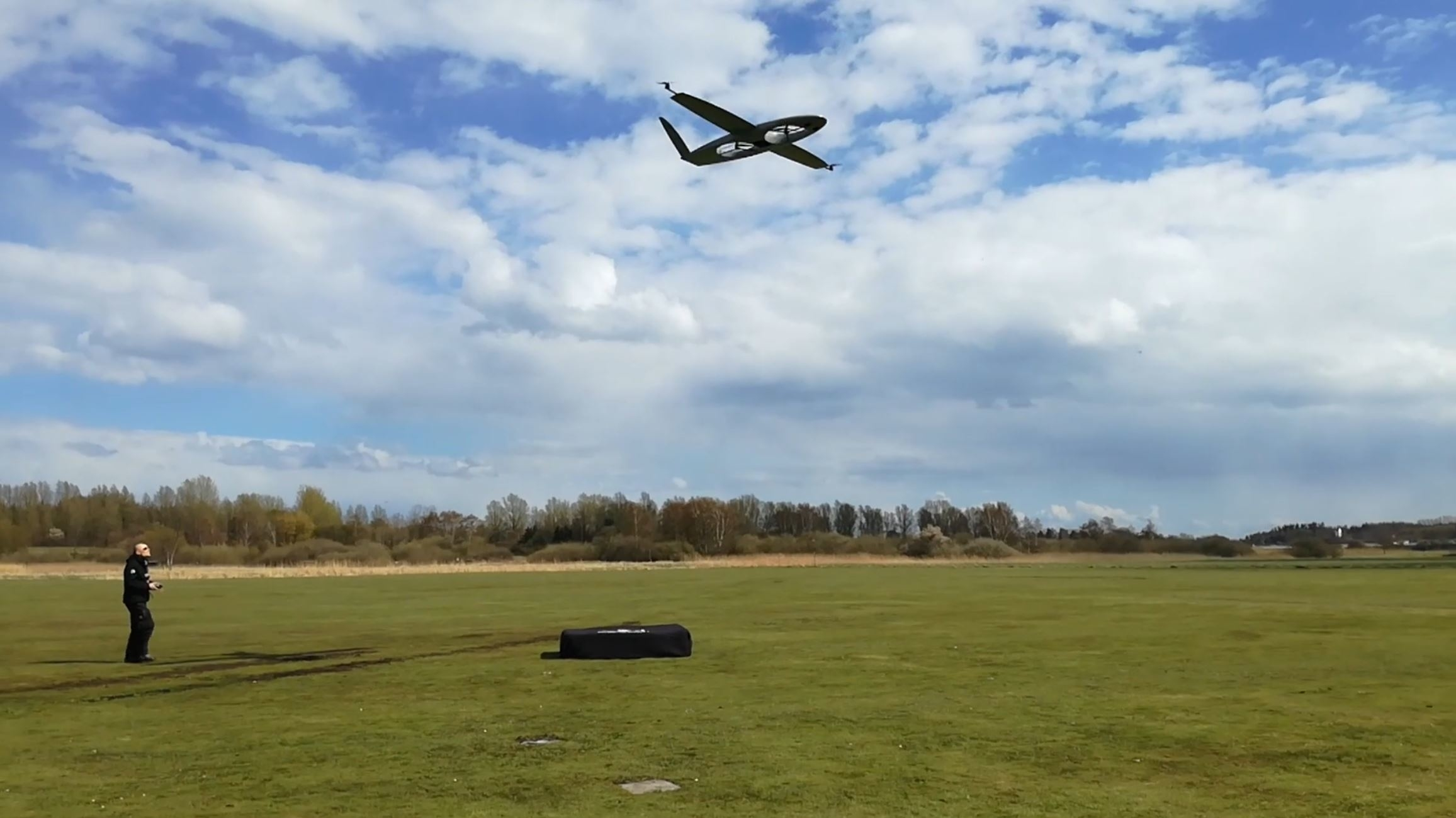 Hybriddrone, Smart UAV, DTU, Sky-Watch