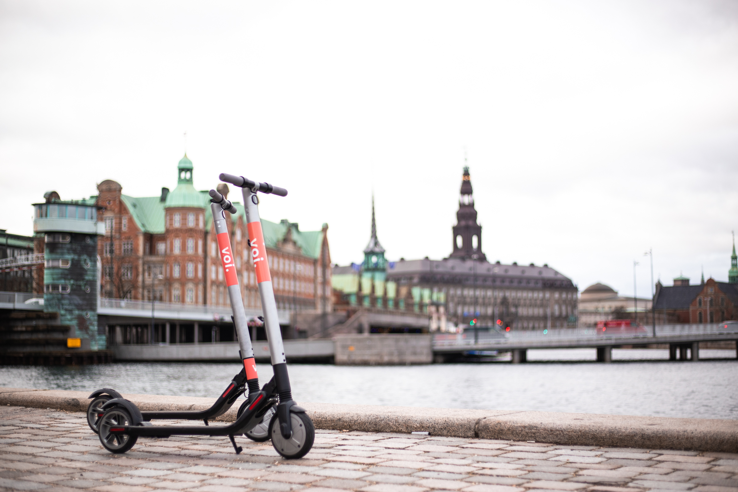 løbehjul, Voi, e-scooter